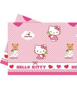 Tovaglia Plastica 120x180 cm Hello Kitty Hearts 1 pz