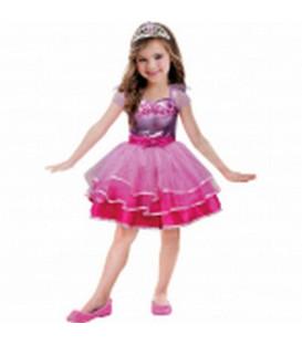 Costume Barbie Ballet Tg 8-10 anni