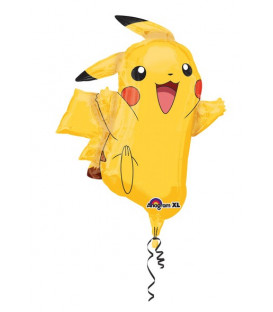 "Pallone foil Supershape 31"" - 78 cm Pokemon Pikachu 1 pz"