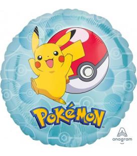 """Pallone foil standard 17"""" - 42 cm Pokemon 1 pz"""