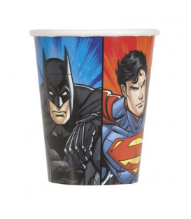 Bicchiere 266 ml Justice League 8 pz