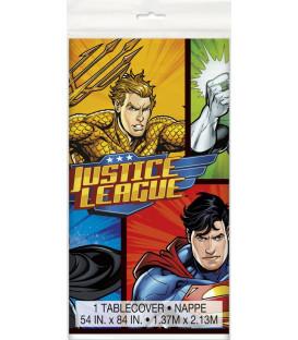 Tovaglia plastica 137 x 213 cm Justice League 1 pz