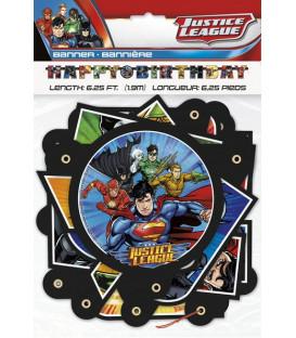 Festone snodabile Justice League 1 pz