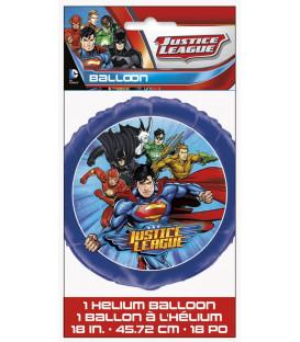 """Pallone foil 18"""" - 45 cm Justice League 1 pz"""
