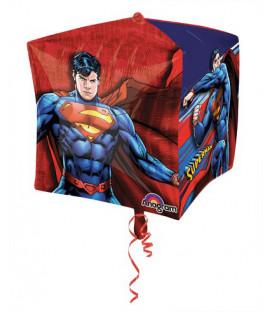 """Pallone foil Ultrashape Cubez 15"""" - 38 cm Superman 1 pz"""