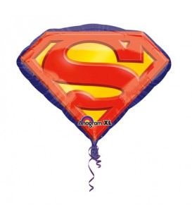 """Pallone foil Supershape 26"""" - 66 cm Superman Emblem 1 pz"""