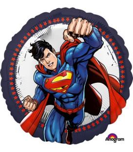 """Pallone foil standard 17"""" - 42 cm Superman 1 pz"""