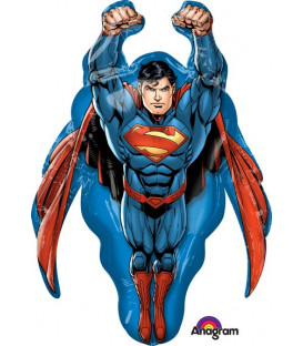 "Pallone foil Supershape 34"" - 83 cm Superman 1 pz"