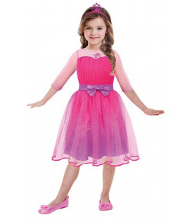Girls' Costume Barbie Princess 5 - 7 Years CB
