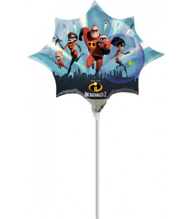 Pallone foil Minishape Incredibles - SI GONFIA AD ARIA