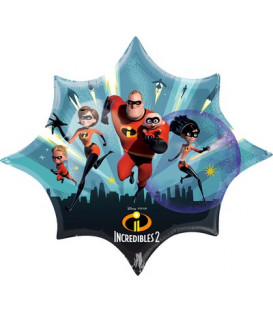 Pallone foil Supershape 88 x 73 cm Incredibles 1 pz