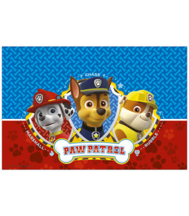 Tovaglia plastica 120 x 180 cm Paw Patrol Ready for Action 1 pz