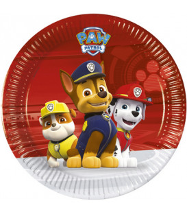 Piatto piccolo 20 cm Paw Patrol Ready for Action 8 pz