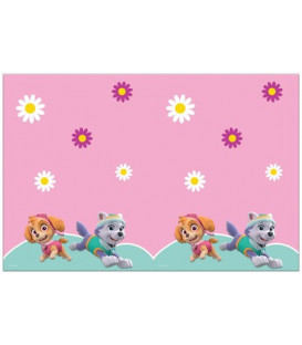 Tovaglia plastica 120x180 cm Paw Patrol Skye and Everest 1 pz