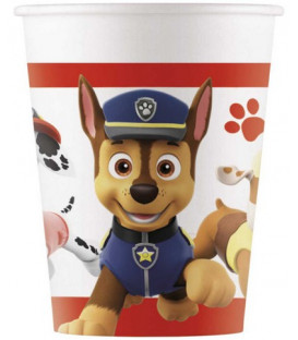 Bicchiere carta 200 ml Paw Patrol - Ready For Action 8 pz