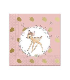 Tovagliolo 33 cm 3 veli Bambi Cutie 3 confezioni