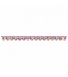 Festone Happy Birthday 180 x 15 cm Shimmer & Shine 1 pz
