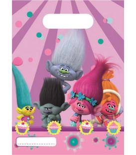 Loot bag Trolls 6 pz