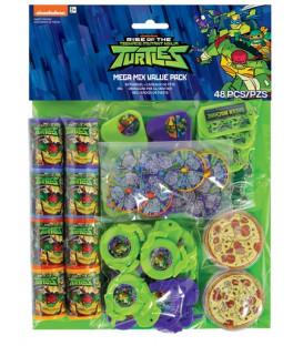 Set 48 Favors Tartarughe Ninja TMNT 48 pz