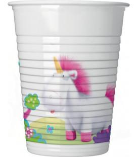 Bicchiere plastica 200 ml FLUFFY 8 pz