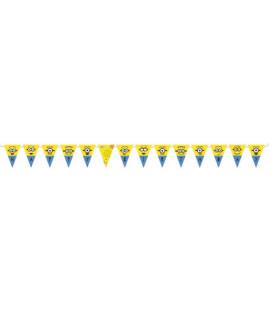 Festone Bandierine Happy Birthday 330 cm Minions 1 pz