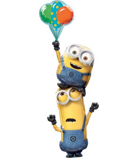 "Pallone foil Multi-balloon 61"" - 154 cm Minions Stacker 1 pz"