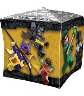 "Pallone foil Ultrashape Cubez 15"" - 38 cm Lego Batman 1 pz"