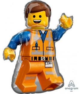 Pallone foil Supershape 60 x 81 cm Lego Movie 2 1 pz
