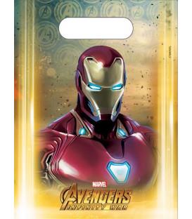 Loot bag Avengers Infinity War 6 pz