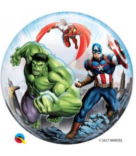 """Pallone Bubble 22""""-56 cm Avengers 1 pz"""