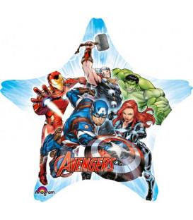 "Pallone foil Jumbo 28"" - 71 cm Avengers 1 pz"