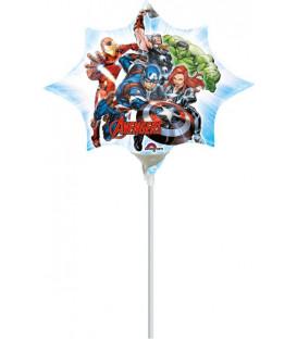 Pallone foil Minishape Avengers - SI GONFIA AD ARIA