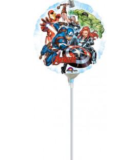 "Pallone foil Mini 9"" - 23 cm Avengers - SI GONFIA AD ARIA"