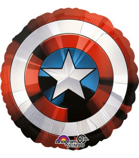 "Pallone foil Jumbo 28"" - 71 cm Avengers Shield 1 pz"