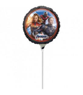 "Pallone foil Mini 9"" - 23 cm Avengers Endgame - SI GONFIA AD ARIA"