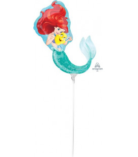 Pallone foil Minishape 22x33 cm Ariel Dream Big - SI GONFIA AD ARIA