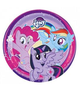 Piatto 23 cm My Little Pony 8 pz