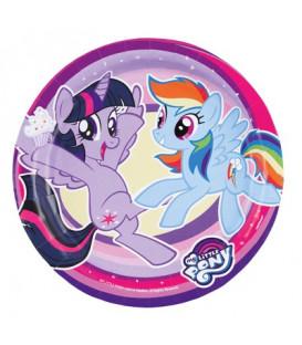 Piatto 18 cm My Little Pony 8 pz