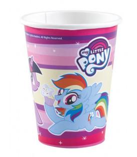 Bicchiere 250 ml My Little Pony 8 pz