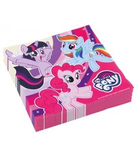 Tovagliolo 33 x 33 cm My Little Pony 3 confezioni