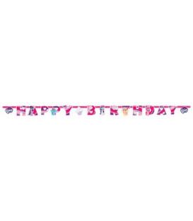 Festone Happy Birthday 200 x 15 cm My Little Pony 1 pz