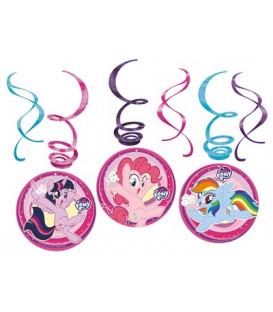 Set 6 pendenti My Little Pony 6 pz
