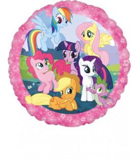 "Pallone foil standard 17"" - 42 cm My Little Pony 1 pz"
