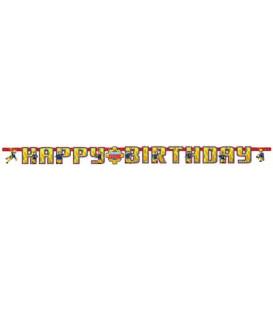 Festone snodabile 180 x 15 cm Sam il Pompiere 1 pz