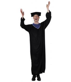 Costume adulto Laureato con tocco (M/L) 1 pz