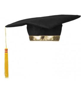 Cappello Laurea feltro 1 pz