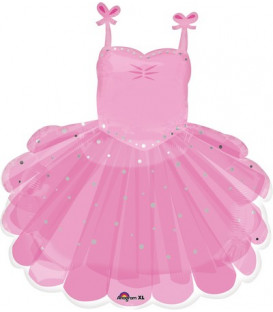 "Pallone foil Supershape 28"" - 71 cm Ballerina Tutu 1 pz"