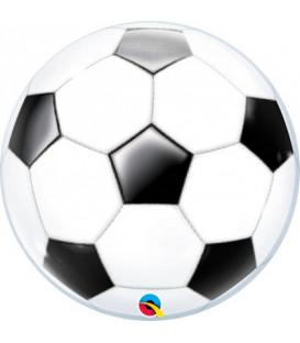 """Pallone Bubble 22""""-56cm Soccer Calcio 1 pz"""
