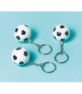 Portachiavi pallone da calcio 12 pz