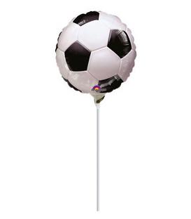 """Pallone foil Minishape 9"""" - 23 cm Calcio Soccer - SI GONFIA AD ARIA"""